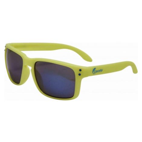 Laceto LT-T0521 BRYLE ELI žlutá - Designové sluneční brýle