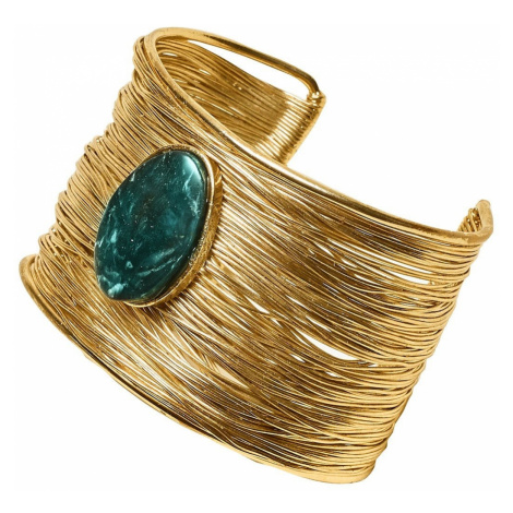 Blancheporte Pevný náramek zlatá