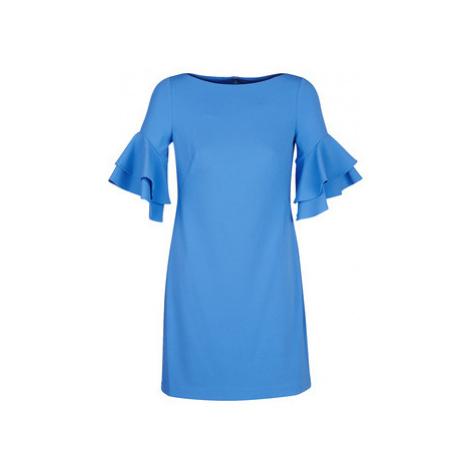 Lauren Ralph Lauren BLUE DAY DRESS Modrá