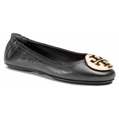 Tory Burch Minnie Travel Ballet With Metal Logo 50393