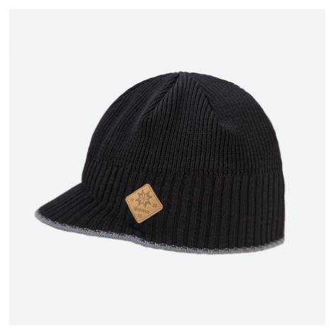 Kama A 115-110 pletená merino čepice černá