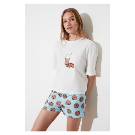 Women's pyjamas set Trendyol Patterned
