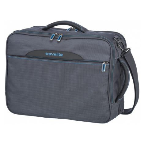 Travelite Taška na notebook/batoh 2v1 CrossLITE Anthracite 23/28 l