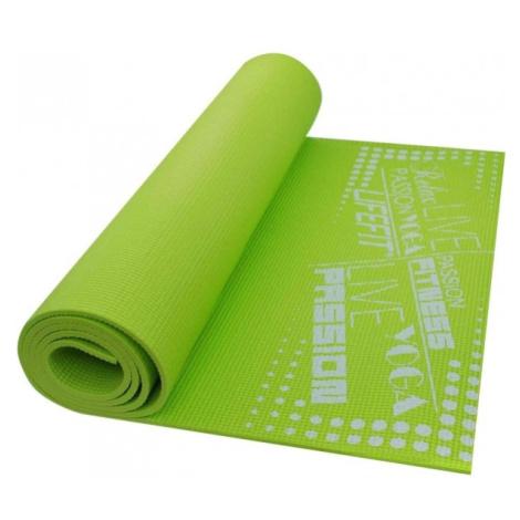 SPORT TEAM LIFEFIT SLIMFIT zelená - Gymnastická podložka