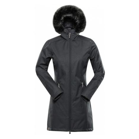 Alpine Pro Priscilla 5 Ins. dámský softshellový kabát šedý