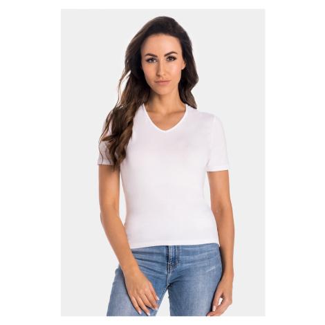 Bambusové tričko Diana I bílá teyli