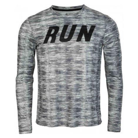 Lotto SPEEDRUN II TEE LS PL šedá - Pánské tričko