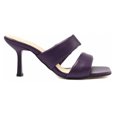 Trendyol Purple Square Toe Women's Slippers