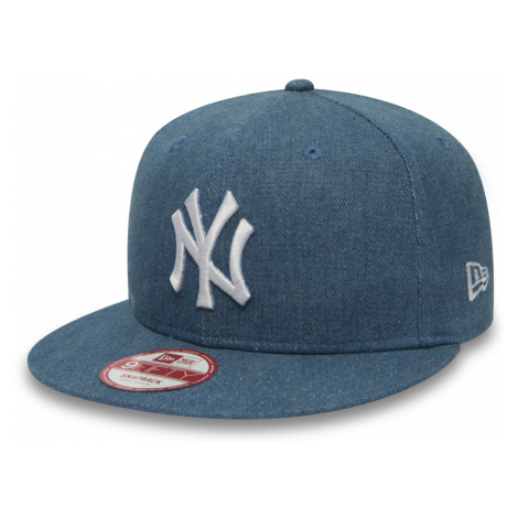 Kšiltovka New Era 9fifty Denim Esential Snap MLB New York Yankees Light Royal