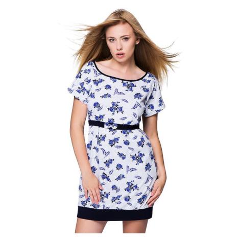 Noční košile Rosalie modré růže Sensis