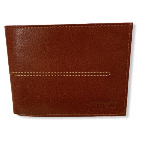 Pánská peněženka Ellini Hautton, hnědá