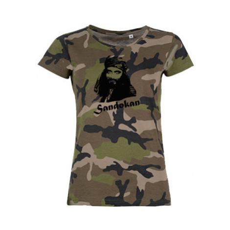 Dámské maskáčové tričko Sandokan