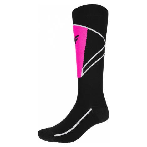 Dámské lyžařské ponožky H4Z20-SODN003-20S-35 DEEP BLACK 4F