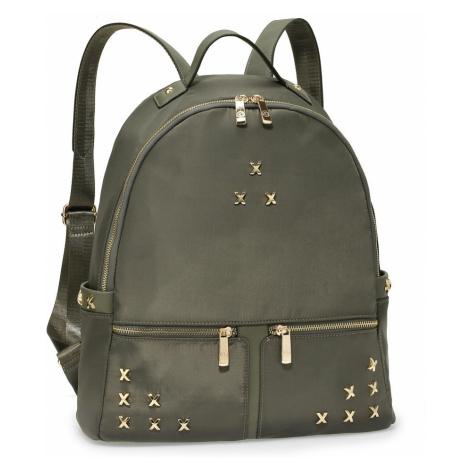 Šedý elegantní dámský batoh Tesen Anna Grace
