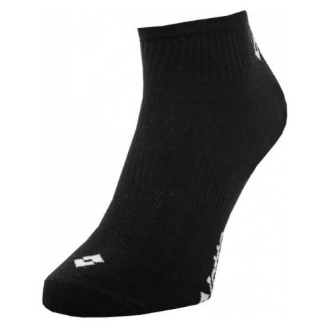 Lotto SPORT SOCK 3 PÁRY černá - Sportovní ponožky