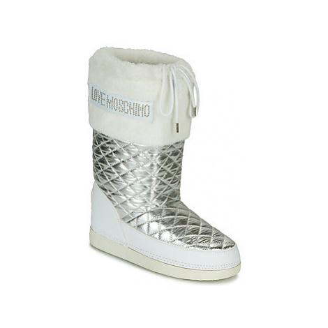 Love Moschino JA2417 Stříbrná