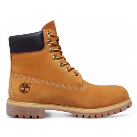 BOTY TIMBERLAND 6 Inch Premium Boot - hnědá