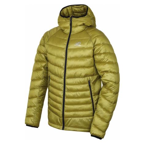 HANNAH DOLPH Pánská ultralehká zimní bunda 10005238HHX01 yellow stripe