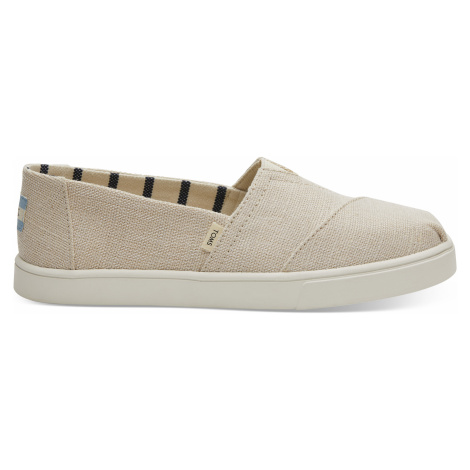 Classic Natural Heritage Canvas Cupsole Toms