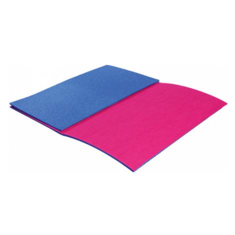 Karimatka YATE Textil skládací 3 díly modrá/růžová