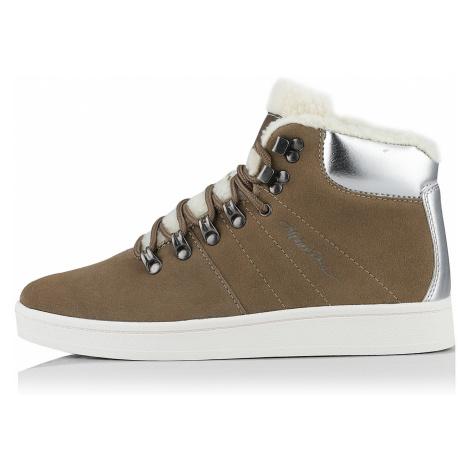 Alpine Pro MANDELTNA ZELENÁ Dámská městská obuv