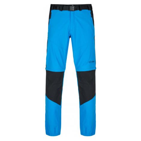KILPI Pánské outdoorové kalhoty HOSIO-M KM0082KIBLU Modrá
