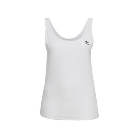 Adidas Tílko (Plus Size) Bílá
