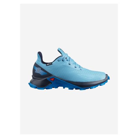 Alphacross Blast Outdoor obuv dětská Salomon Modrá
