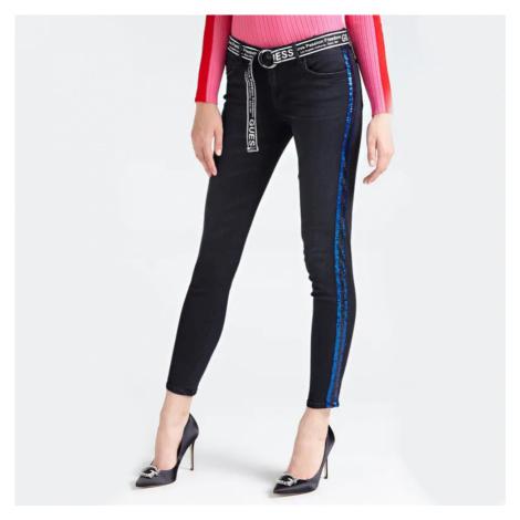 Guess dámské černé džíny Marilyn