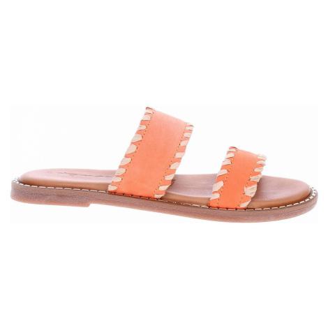 Tamaris Dámské pantofle 1-27128-34 sunset Oranžová