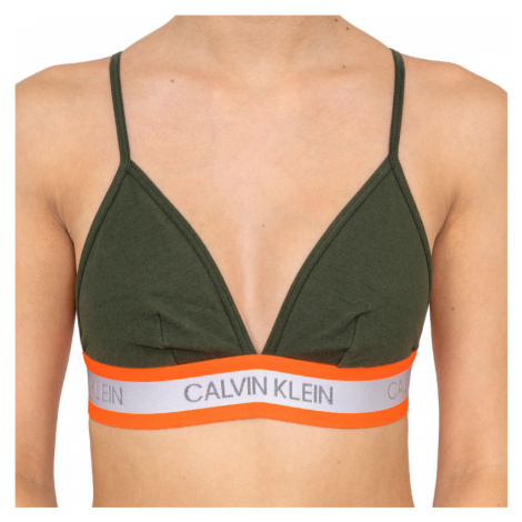 Dámská podprsenka Calvin Klein zelená (QF5669E-FDX)