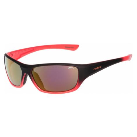 RELAX Mona Dětské sluneční brýle R3066B černo oranžová 190cm
