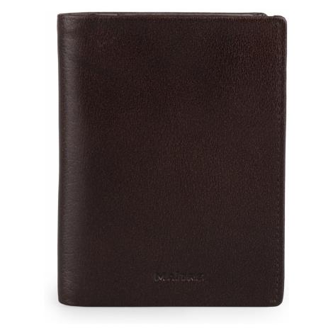 Maître Pánská kožená peněženka Bruschied Airbert 4060001532 - tmavě hnědá Maitre