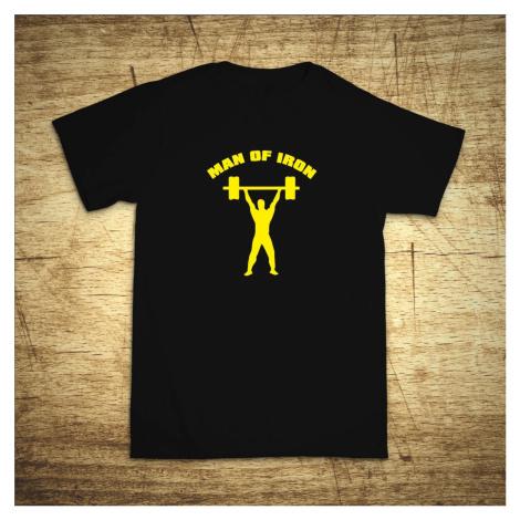Tričko s motivem Iron man BezvaTriko
