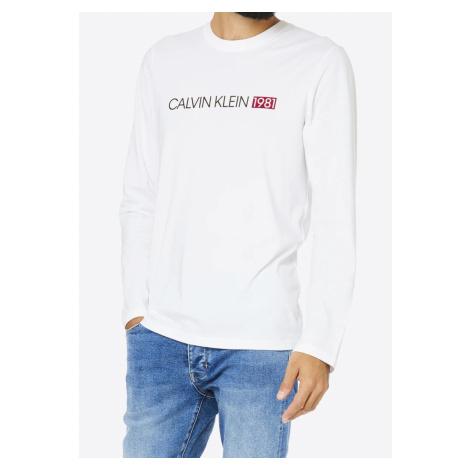 Pánské tričko Calvin Klein NM1705 Bílá
