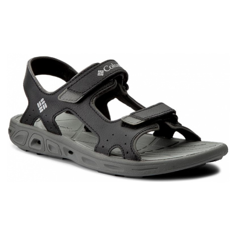Sandály COLUMBIA - Youth Techsun Vent BY4566 Black/Columbia Grey 010