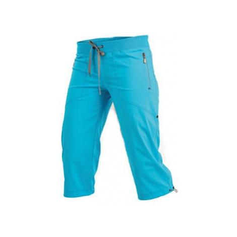 Dámské kalhoty v 3/4 délce bokové Litex 99583 | hnědá