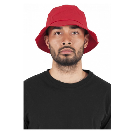Flexfit Cotton Twill Bucket Hat - red Urban Classics