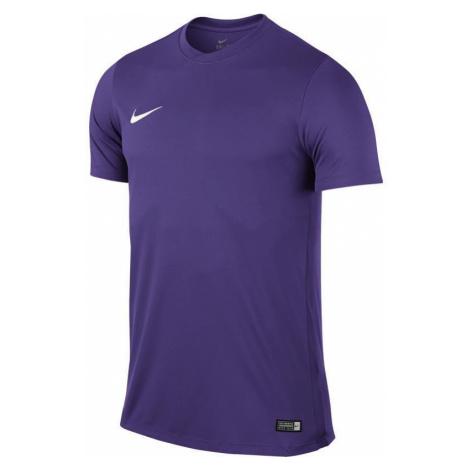 Dres Nike Park VI s krátkým rukávem Fialová