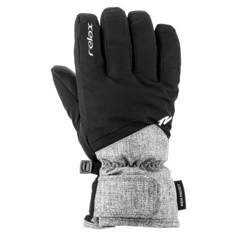 RELAX LARO Dětské lyžařské rukavice RR23C šedá/černá