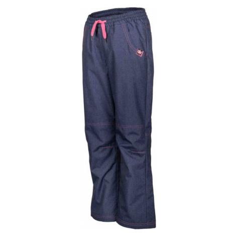 Lewro NINGO modrá - Dětské zateplené kalhoty