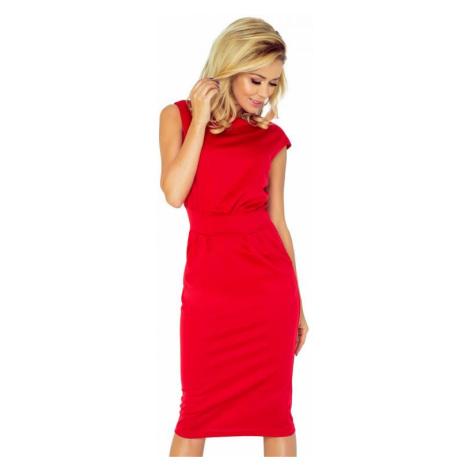 Dámské šaty Numoco 144-2 | červená