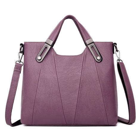 Crossbody prostorná kabelka z pravé kůže kvalitní kabelka i do ruky