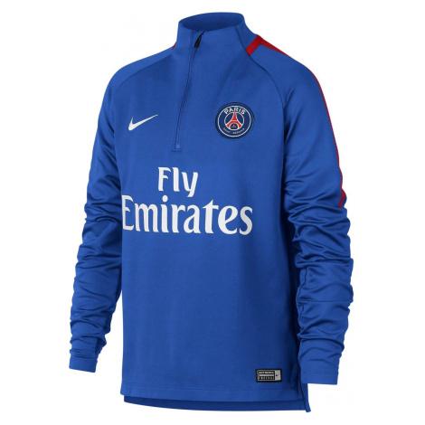 Dětské tričko Nike PSG Dry Squad Drill Modrá
