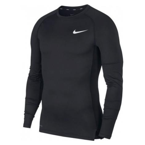 Nike NP TOP LS TIGHT M černá - Pánské tričko s dlouhým rukávem