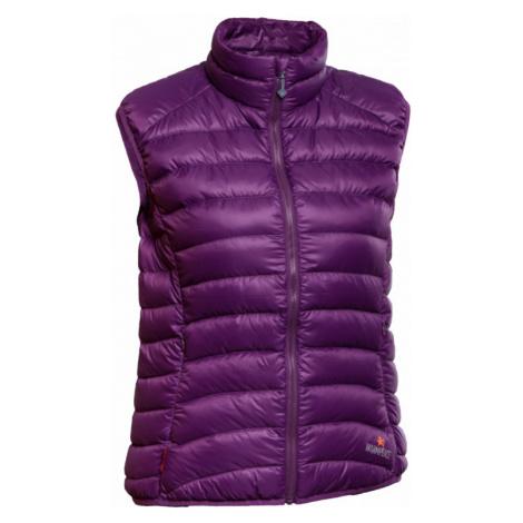 Dámská vesta Warmpeace Swan Lady violet