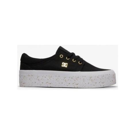 DC Shoes Trase Platform TX Se ADJS300196 Černá