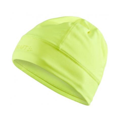 Čepice CRAFT CORE Essence Thermal žlutá