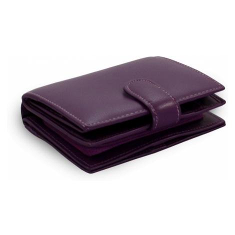 Fialová dámská kožená peněženka Kendall Arwel