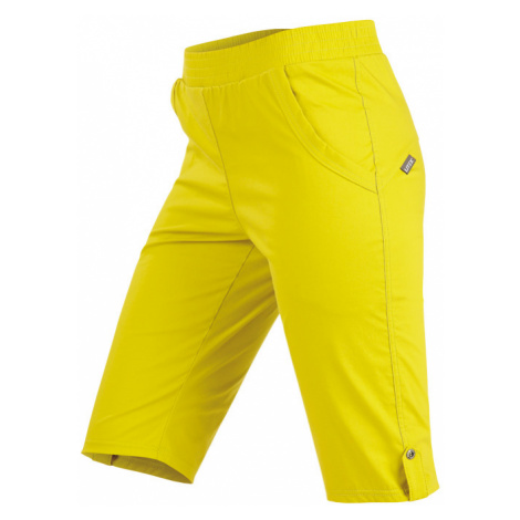 LITEX Kraťasy dámské do pasu. 99562104 žlutozelená